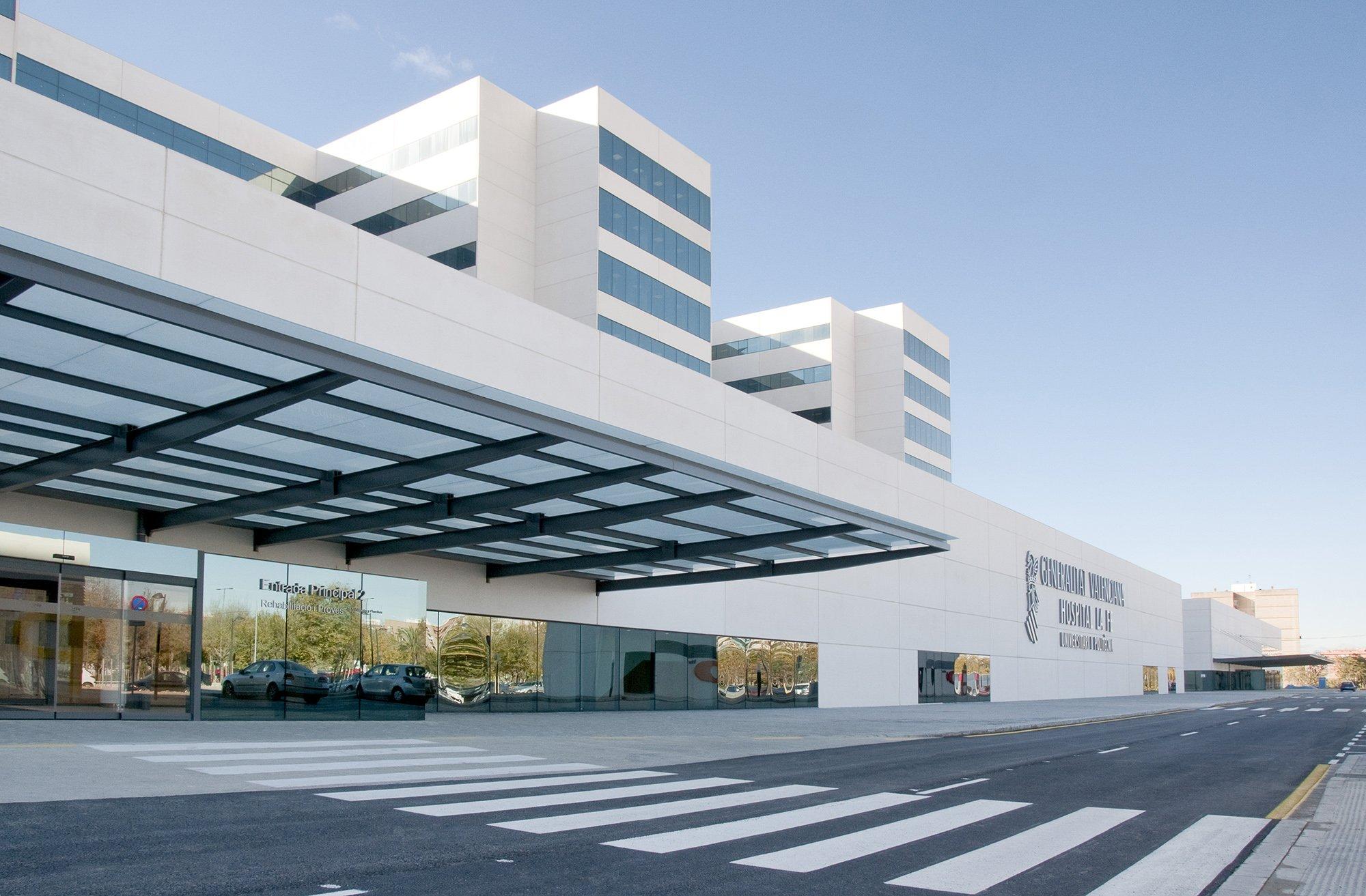 Emplazamiento promoci n torre patraix - Hospital nueva fe valencia ...